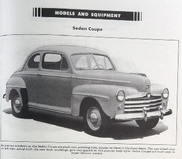 Ford: Closing the Years of Tradition 1946-1947-1948 Sales, Data, Accessories